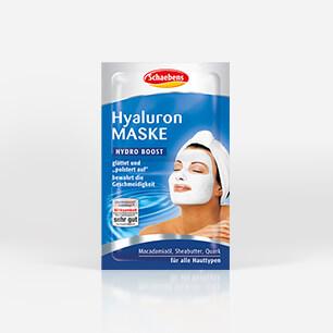 Die Maske für die Person mit der Brennnessel und dem Honig