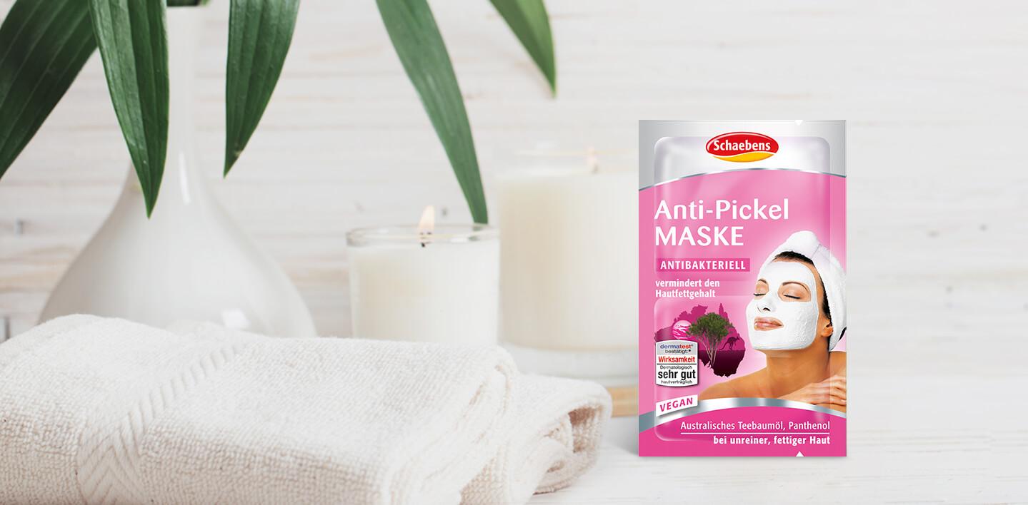 Anti-Pickel Gesichtsmaske von Schaebens