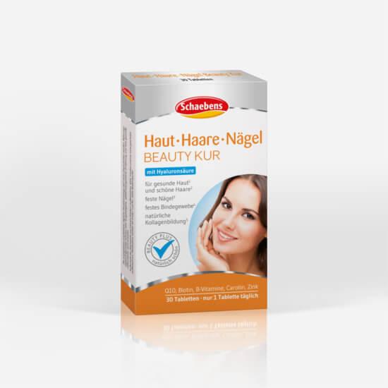 haut-haare-nägel-beauty-kur-hyaluronsäure-schaebens-kollagenbildung-q10-zink-biotin-carotin
