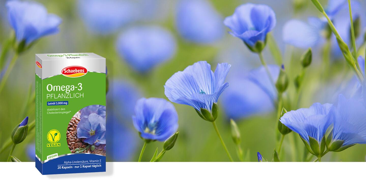 omega-3-pflanzlich-leinöl-schaebens-cholesterinspiegel-vitamin-e-alpha-linolensäure