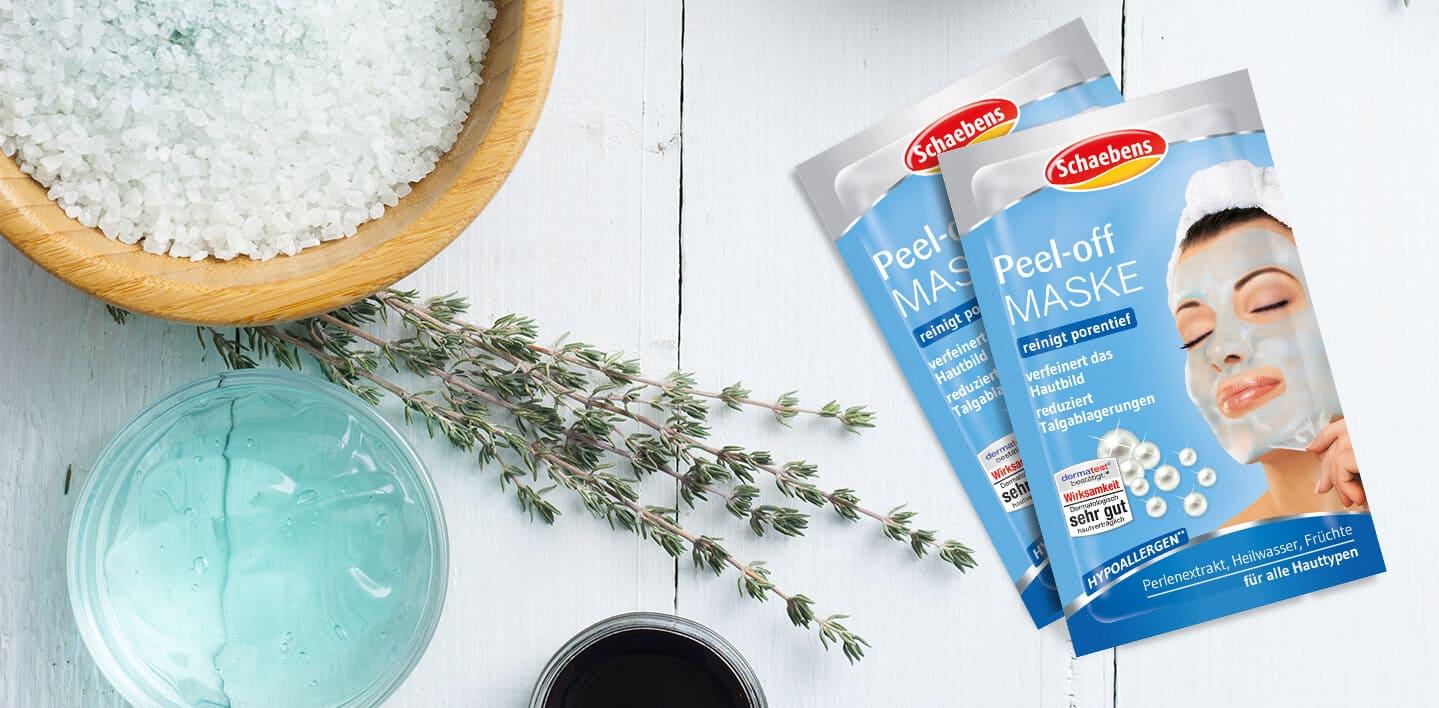 peel-off-maske-gesichtspflege-pflege-gesichtsmaske-schaebens-heilwasser-perlenextrakt-früchte-hypoallergen-reinigend-porentief-hautdurchblutung-verfeinert-blau-verpackung-header