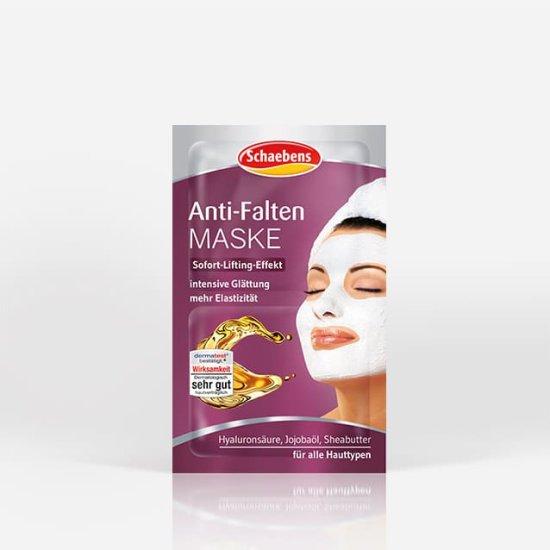 anti-falten-maske-gesichtspflege-pflege-gesichtsmaske-schaebens-jojobaoel-sheabutter-hyaluronsaeure-sofort-lifting-elastizität-feuchtigkeit-glaettung-intensiv-verpackung-lila-teaser