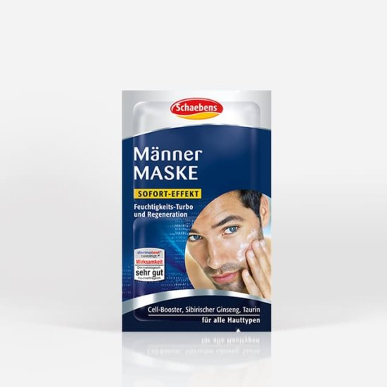 maenner-maske-gesichtspflege-pflege-gesichtsmaske-schaebens-hypoallergen-hydration-feuchtigkeitsspendend-widerstandskraft-regeneration-turbo-effektiv-sofort-effekt-teaser