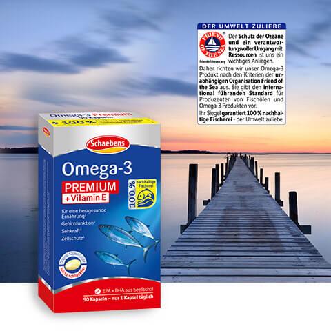 OMEGA-3 Premium + Vitamin E