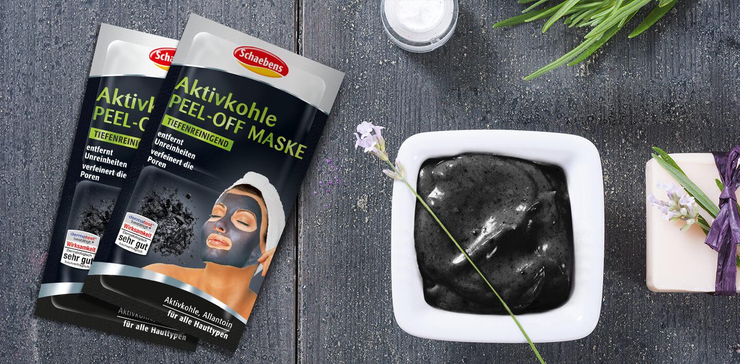 Aktivkohle Peel-Off Maske