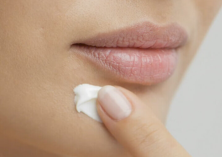 augen-lippen-maske