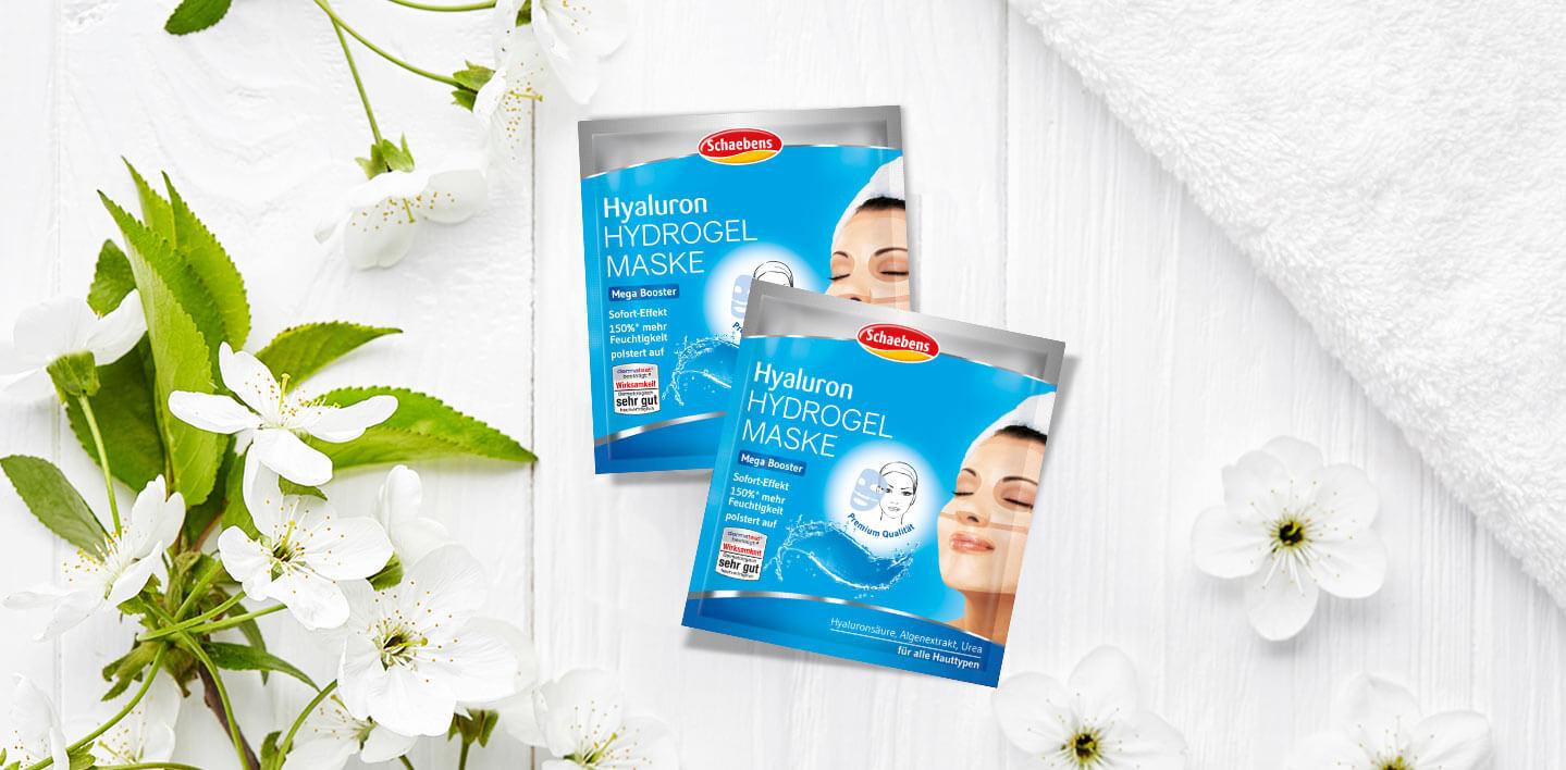 hyaluron-hydrogel-maske-gesichtspflege-pflege-gesichtsmaske-schaebens-blau-hyaluronsäure-algenextrakt-urea-feuchtigkeit-aufpolsternd-sofort-effekt-soforthilfe-header