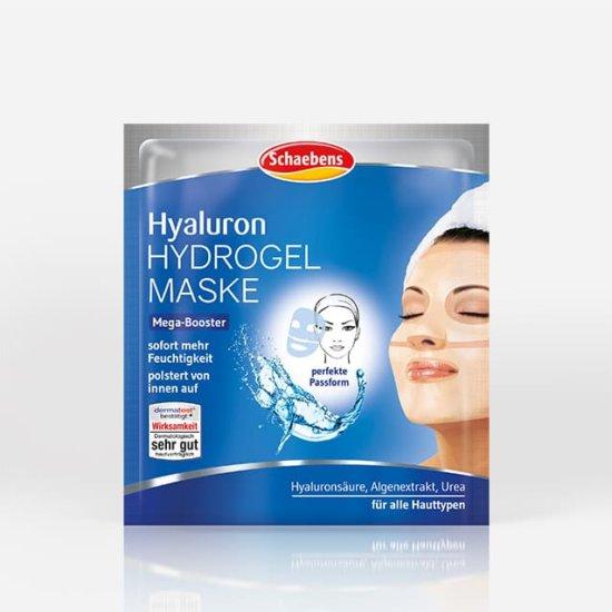 hyaluron-hydrogel-maske-gesichtspflege-pflege-gesichtsmaske-schaebens-blau-hyaluronsäure-algenextrakt-urea-feuchtigkeit-aufpolsternd-sofort-effekt-soforthilfe-teaser