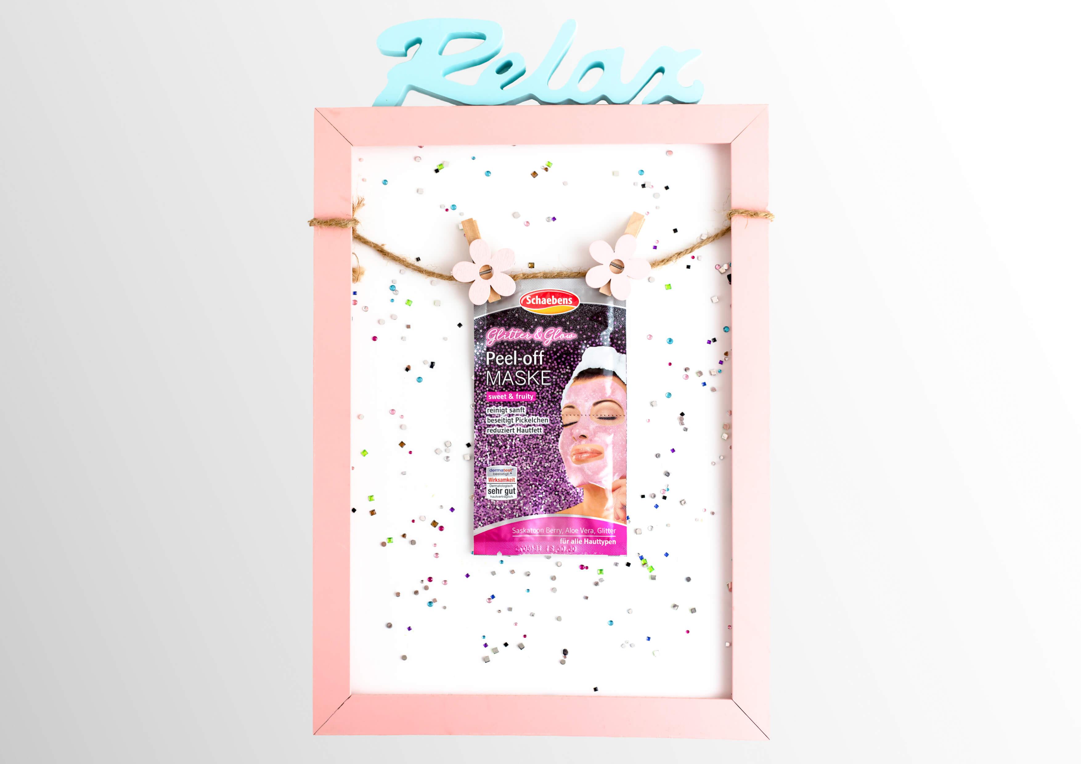 nela-beautytipps-schaebens-glitter&glow-peel-off-maske