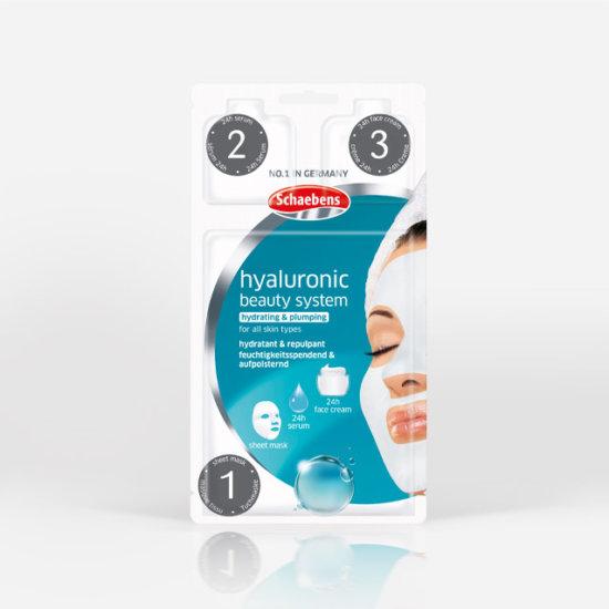 hyaluronic-beauty-system-gesichtspflege-gesichtsmaske-tuchmaske-schaebens-feuchtigkeitsspendend-aufpolsternd-hydratant-repulpant-teaser