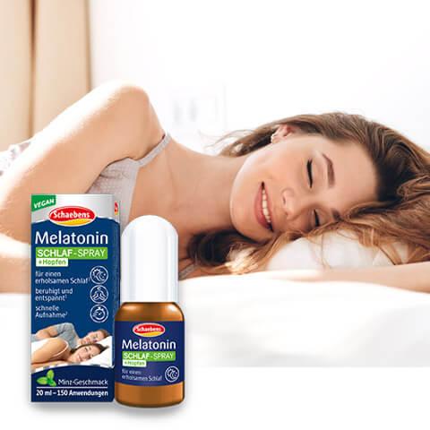 Melatonin Schlaf-Spray