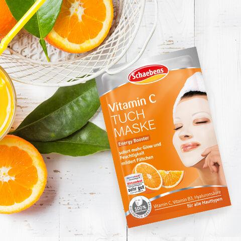 Vitamin C Tuchmaske