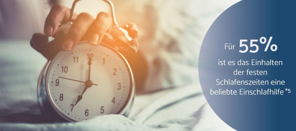 Schlafzeiten Erwachsene